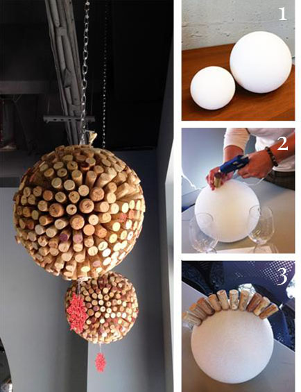 Cork Ball Decoration