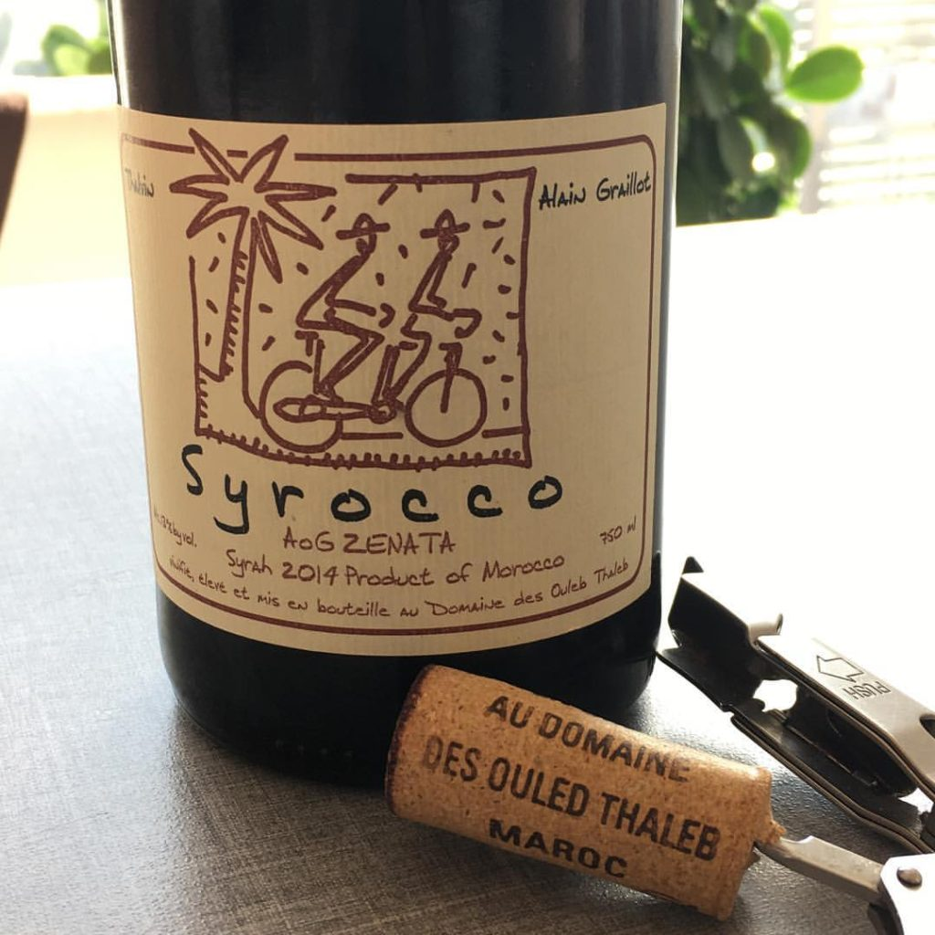 Syrocco Syrah by Domaine Ouled Thaleb 2015