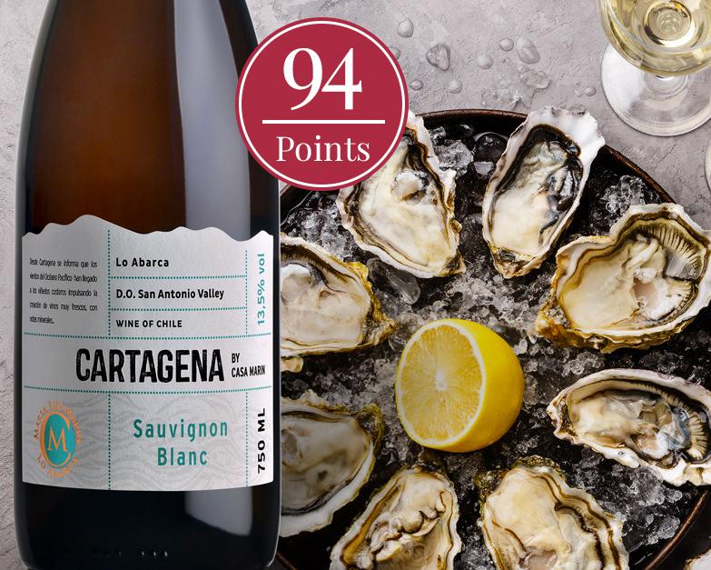 Cartagena Sauvignon Blanc by Viña Casa Marín 2018