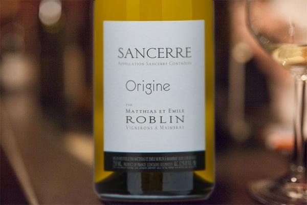 Sancerre Origine by Matthias et Emile Roblin 2017