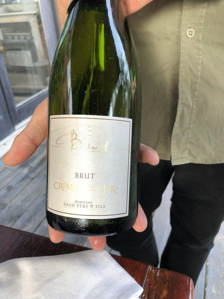 Cremant de Jura Brut Blanc de Blancs by Domaine Baud NV