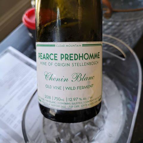 Chenin Blanc Old Vine Wild Ferment Stellenbosch by Pearce Predhomme 2018