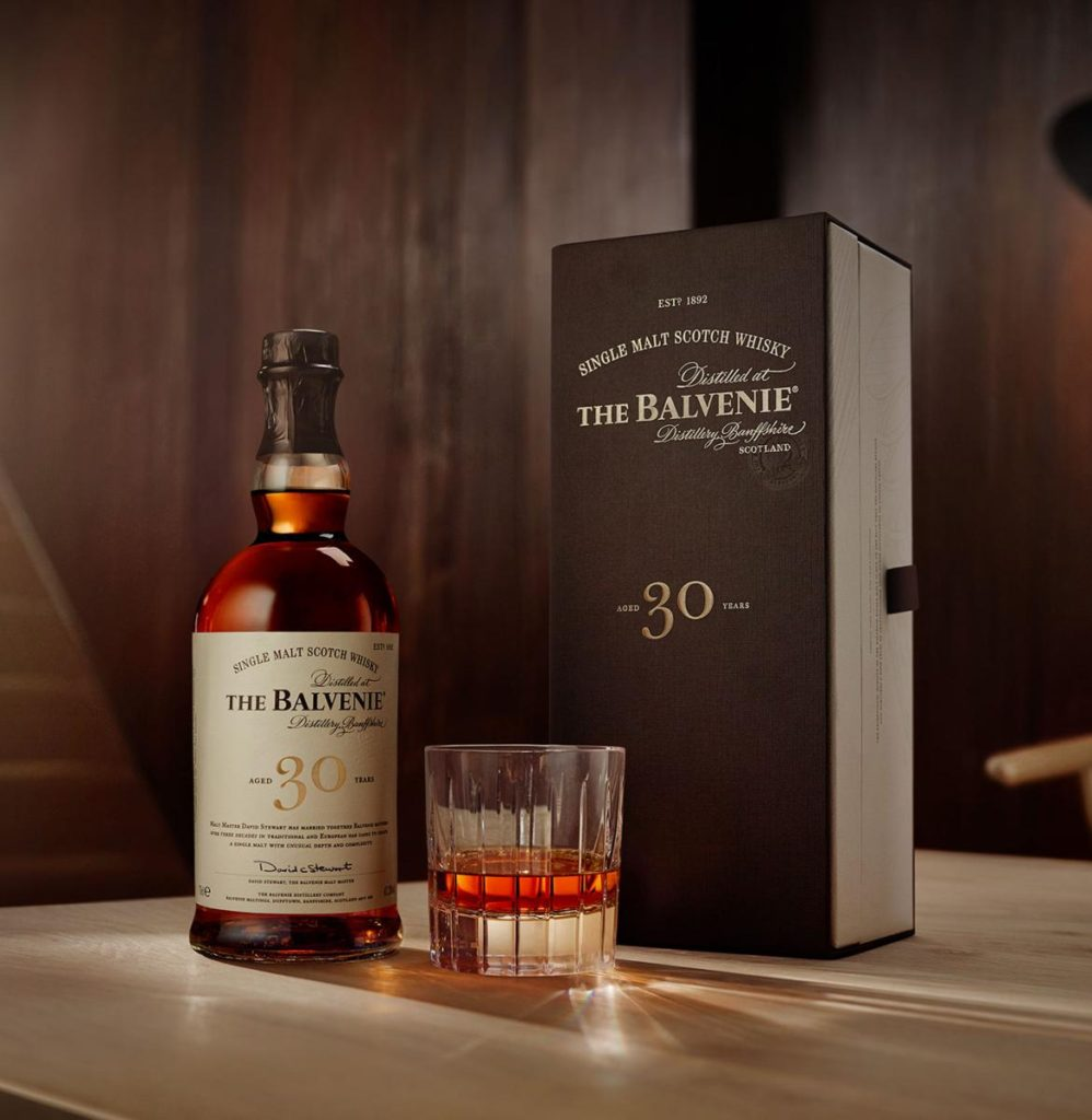 The Balvenie 30 Year Old Speyside Single Malt Whisky