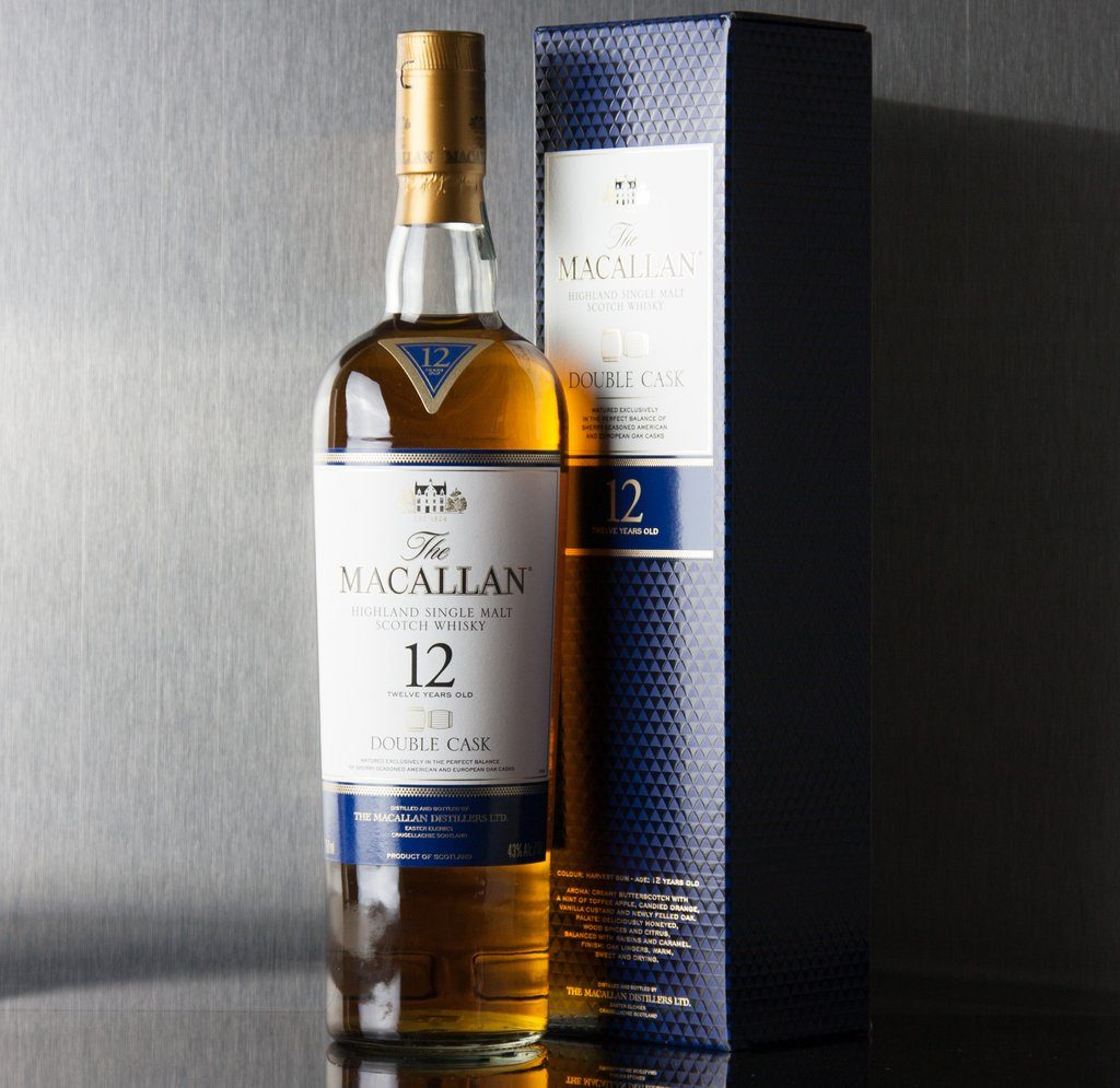 Our favourite Macallan 12 Year Old Double Cask Highland Single Malt Scotch Whisky