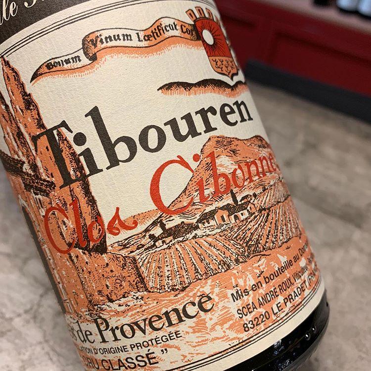 Tibouren Côtes de Provence Rouge by Clos Cibonne 2018