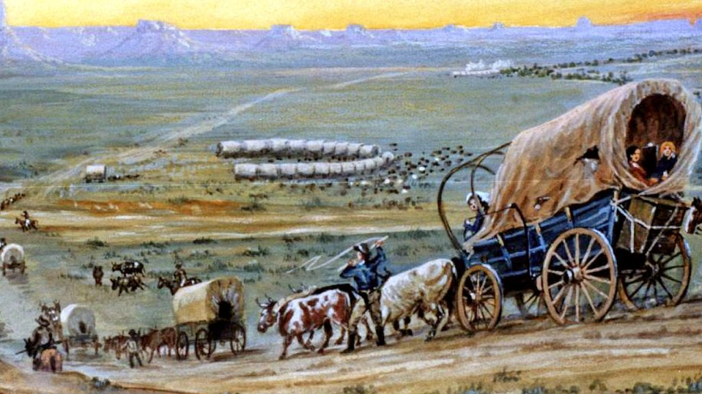 This image has an empty alt attribute; its file name is Wagon-Train-cropped.jpg